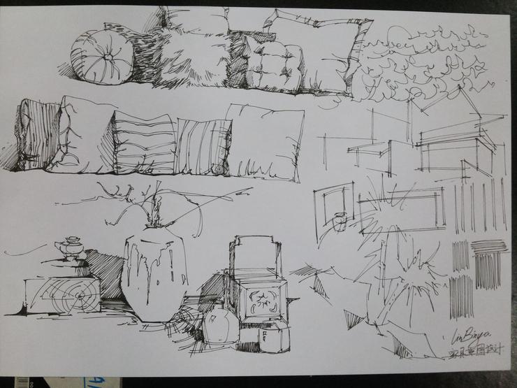 【江门广播电视大学】如何画好室内手绘草图