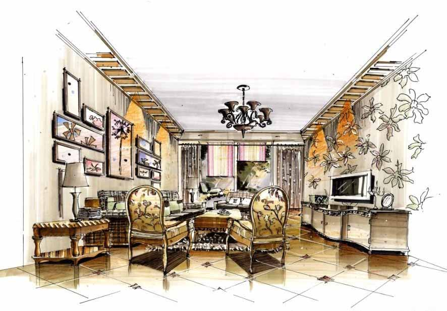 泰式风格室内陈设内容泰式风格室内陈设版面设计